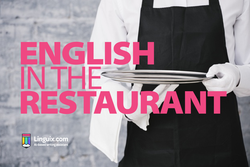 English in the Restaurant