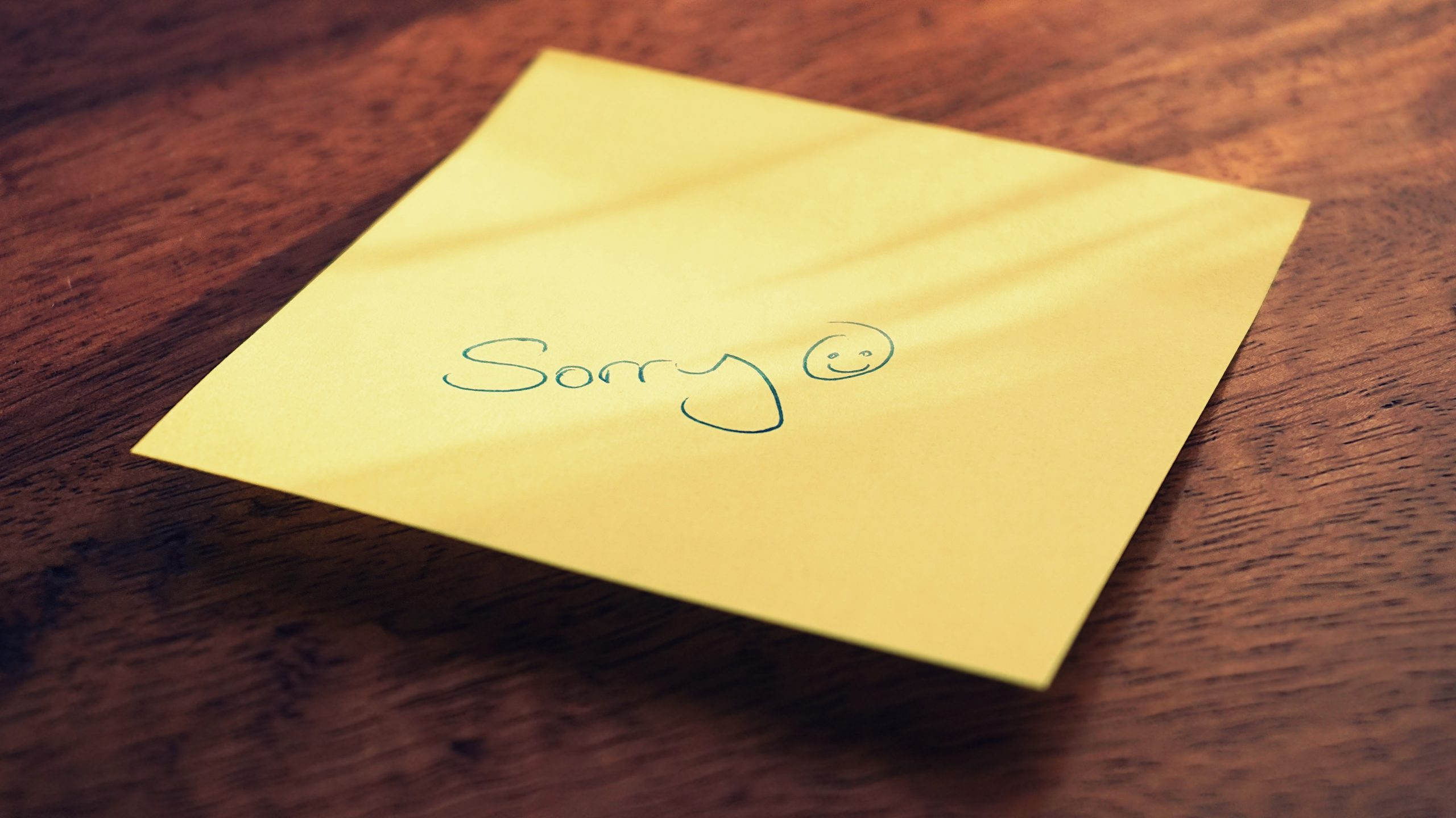 How to Apologize in English