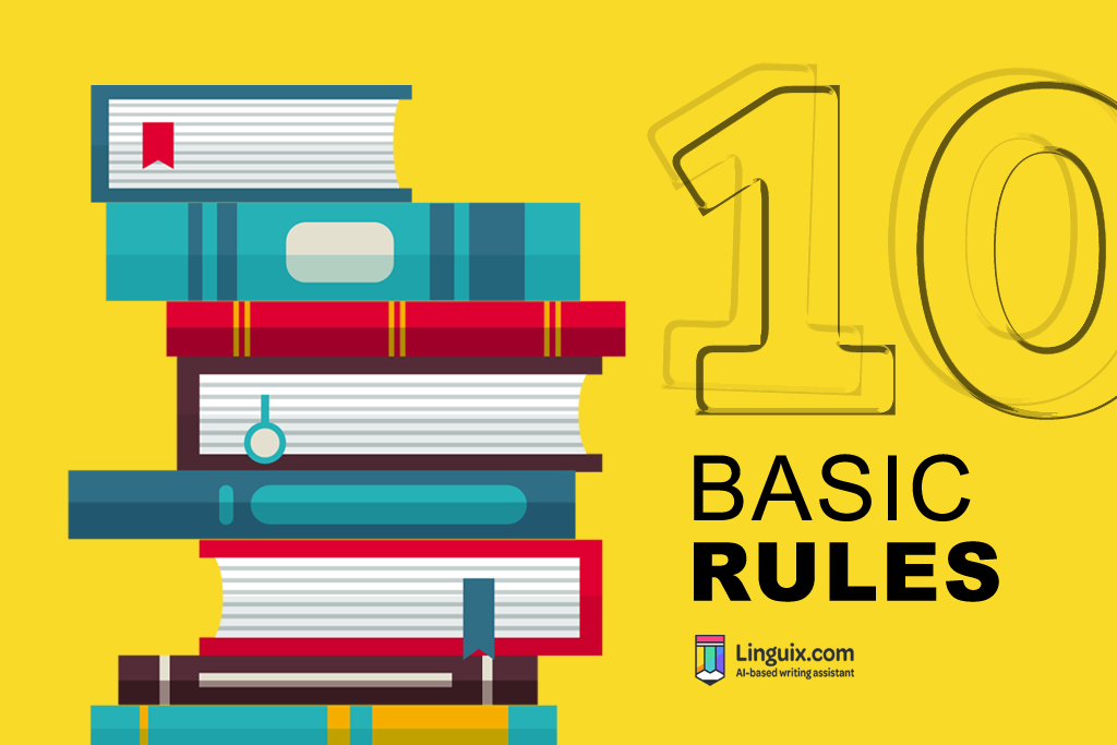 Basic English Grammar – 10 Grammar Rules to Get You Started in English